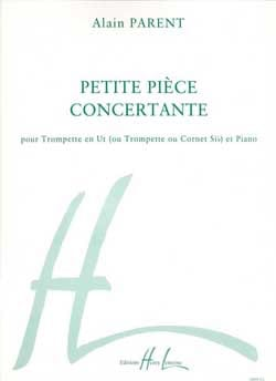 Petite Pièce Concertante Alain Parent Partition laflutedepan