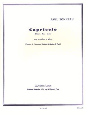 Capriccio Paul Bonneau Partition Trombone - laflutedepan