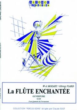 La Flûte Enchantée Ouverture K.620 MOZART Partition laflutedepan