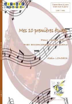Alain Londeix - My first 10 studies for snare - Partition - di-arezzo.com