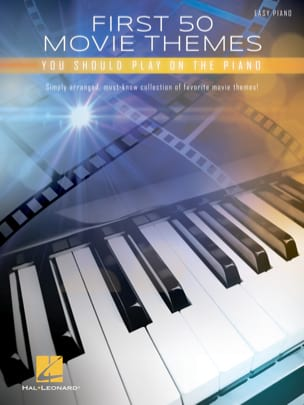 First 50 Movie Themes You Should Play on the Piano - Partition - di-arezzo.co.uk