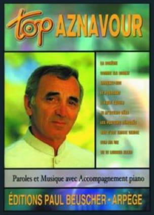 Top Aznavour - Charles Aznavour - Partition - laflutedepan.com