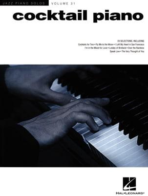 Jazz Piano Solos Series Volume 31 - Cocktail Piano laflutedepan