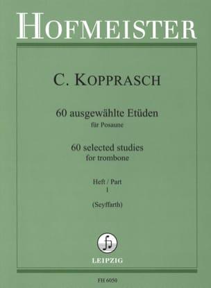 60 Ausgewählte Etüden Heft 1 - Georg Kopprasch - laflutedepan.com