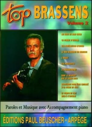 Top Brassens Volume 2 - Georges Brassens - laflutedepan.com