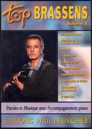 Top Brassens Volume 1 - Georges Brassens - laflutedepan.com