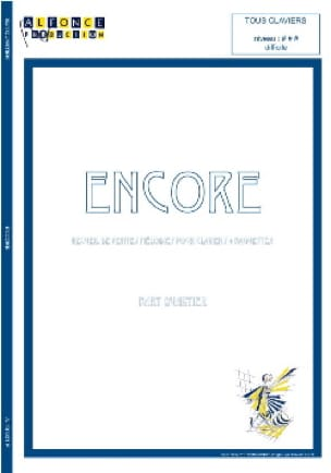 Encore - Bart Quartier - Partition - Marimba - laflutedepan.com