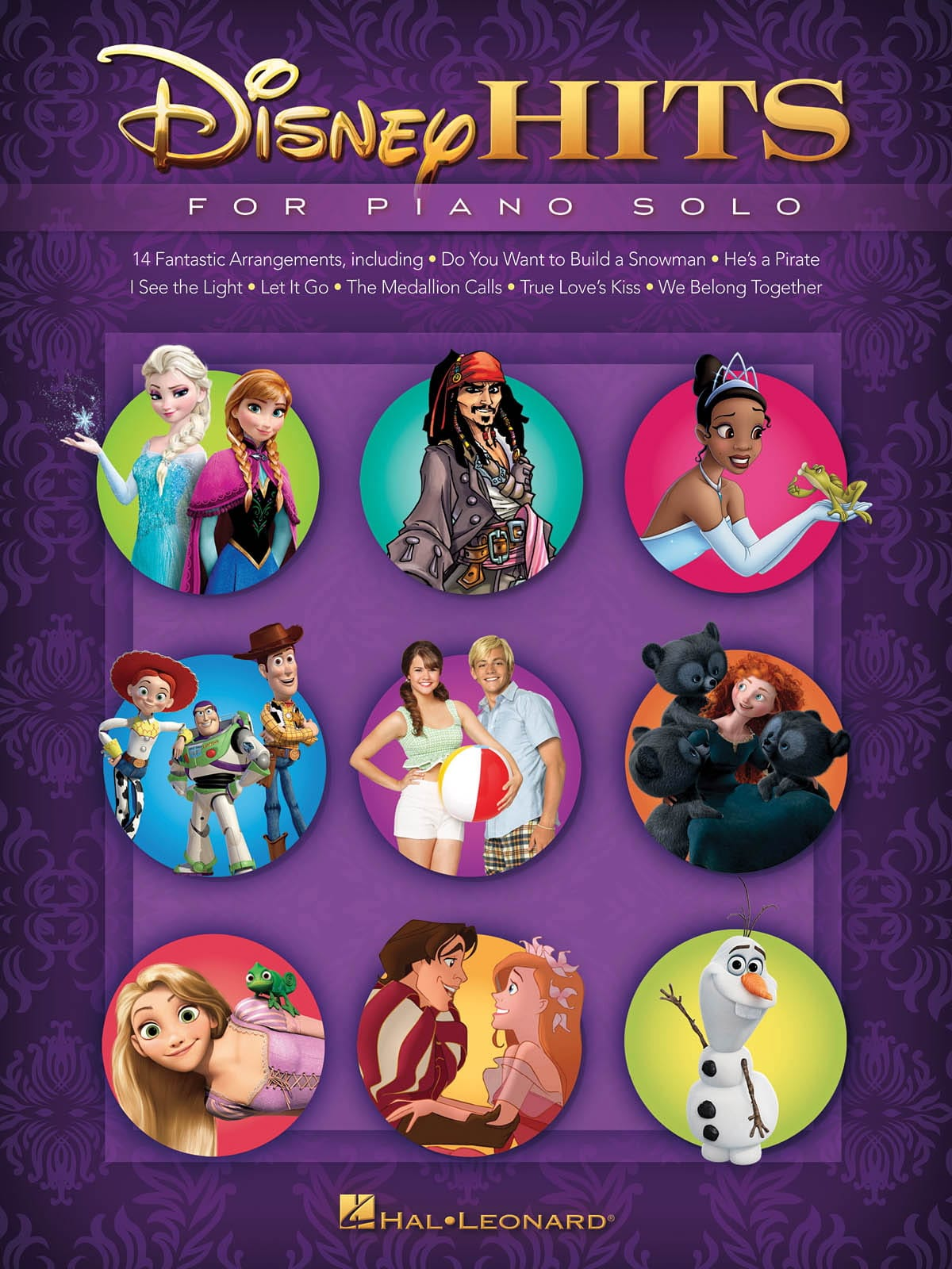Disney Hits for Piano Solo - DISNEY - Partition - laflutedepan.com