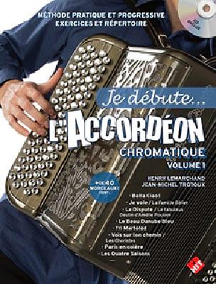Je débute... l'accordéon chromatique - Volume 1 - laflutedepan.com