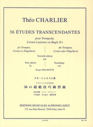 36 Etudes Transcendantes Théo Charlier Partition laflutedepan