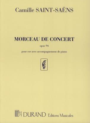 Morceau de Concert Opus 94 SAINT-SAËNS Partition Cor - laflutedepan