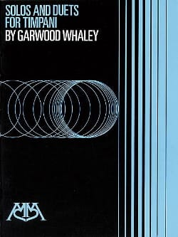 Solos And Duets For Timpani Garwood Whaley Partition laflutedepan