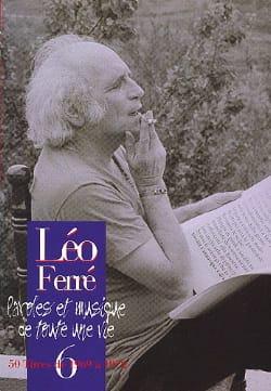 Paroles Et Musiques de Toute Une Vie Volume 6 1969-72 laflutedepan