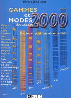 Gammes Et Modes des Années 2000 Derek Sébastian Partition laflutedepan