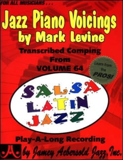 Jazz Piano Voicing Volume 64 METHODE AEBERSOLD Partition laflutedepan