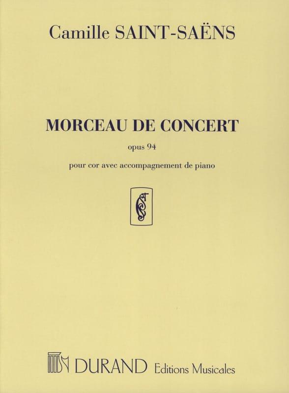 Morceau de Concert Opus 94 - SAINT-SAËNS - laflutedepan.com