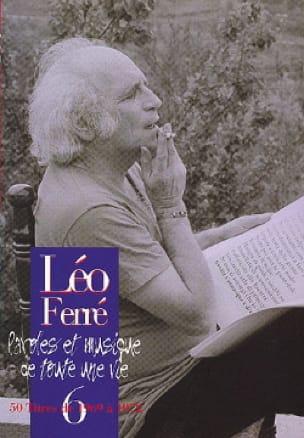 Paroles Et Musiques de Toute Une Vie Volume 6 1969-72 - laflutedepan.com