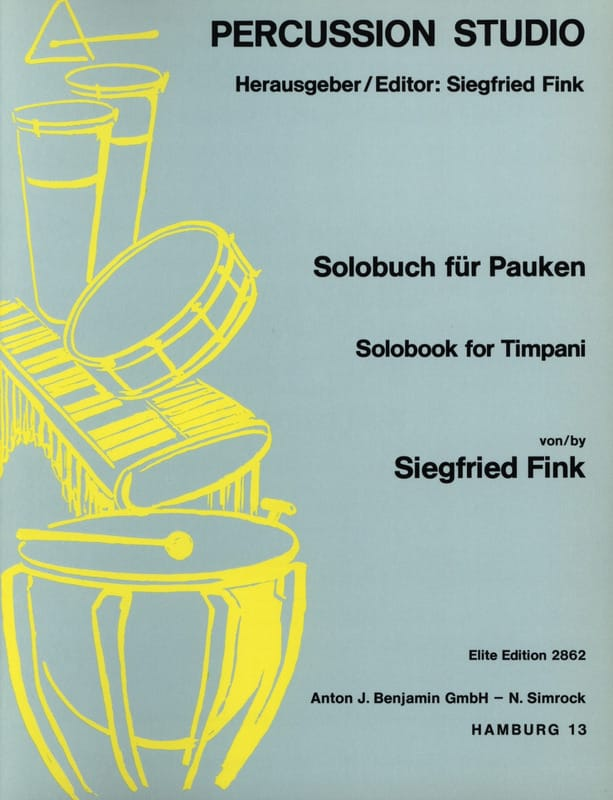 Solobook For Timpani - Siegfried Fink - Partition - laflutedepan.com