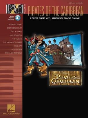 Piano Duet Play-Along Volume 19 - Pirates des Caraïbes laflutedepan