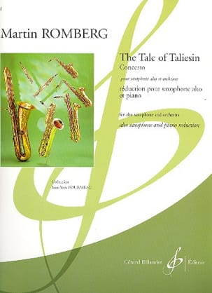 The Tale Of Taliesin - Concerto Martin Romberg Partition laflutedepan