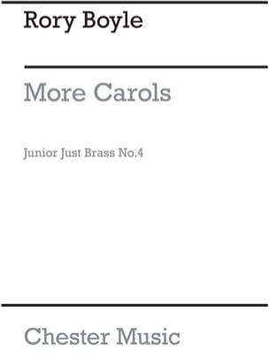 More Carols - Junior Just Brass N° 4 Rory Boyle Partition laflutedepan