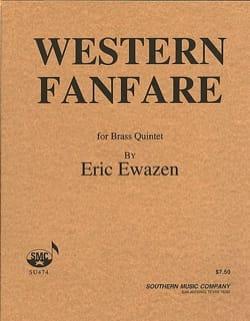 Western Fanfare Eric Ewazen Partition laflutedepan