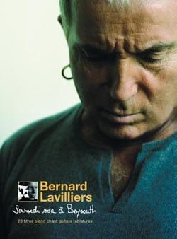 Samedi Soir A Beyrouth Bernard Lavilliers Partition laflutedepan