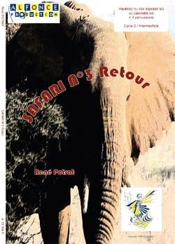 Safari N° 3 Retour - René Potrat - Partition - laflutedepan.com