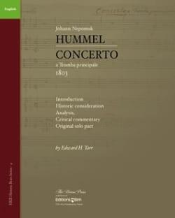Concerto HUMMEL Livre Trompette - laflutedepan