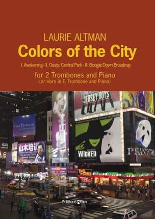 Colors of the City Laurie Altman Partition Trombone - laflutedepan