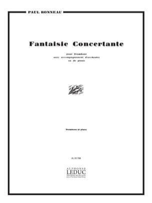 Paul Bonneau - Concertante Fantasy - Partition - di-arezzo.com
