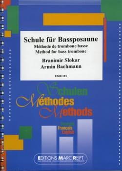 Méthode de Trombone Basse Slokar B. / Bachmann A. laflutedepan