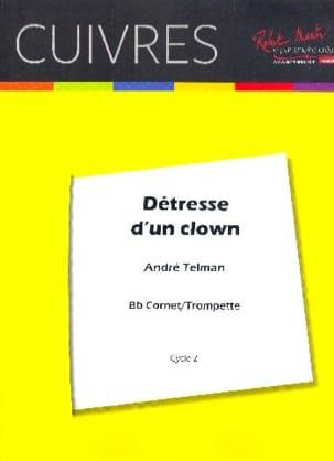 Détresse D' Un Clown André Telman Partition Trompette - laflutedepan