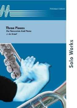 3 Pieces - Jan De Graaf - Partition - laflutedepan.com