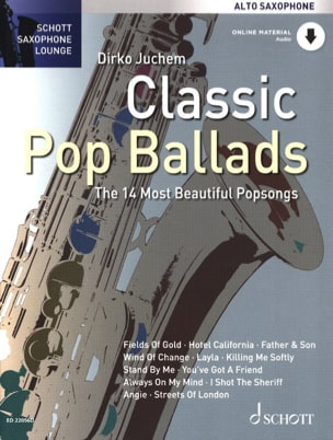 Classic Pop Ballads Partition Saxophone - laflutedepan