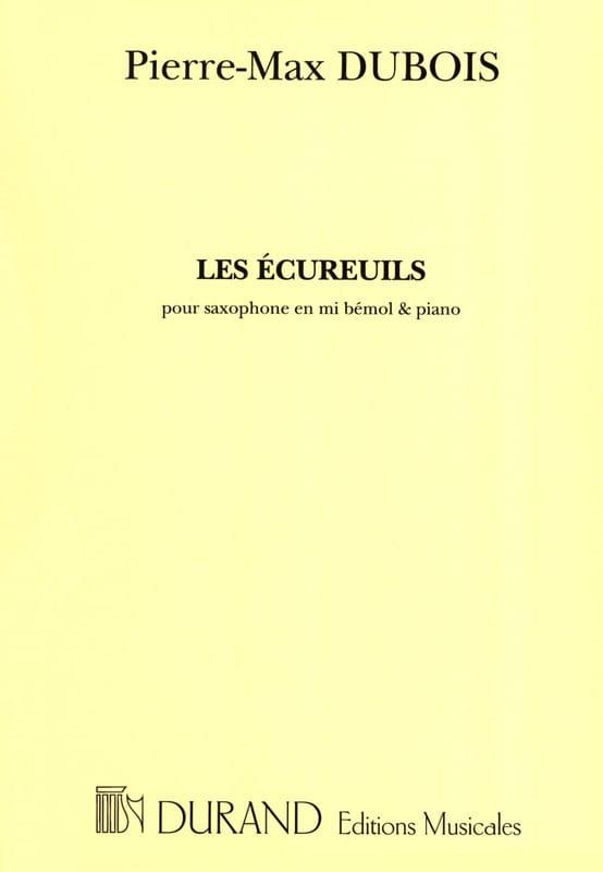 Les Ecureuils - Pierre-Max Dubois - Partition - laflutedepan.com