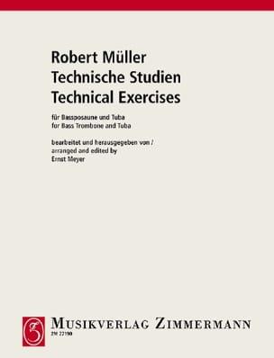 Robert Müller - Technische Studien - Partition - di-arezzo.es