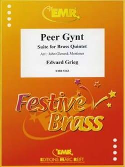Peer Gynt GRIEG Partition Ensemble de cuivres - laflutedepan