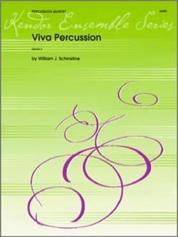 Viva Percussion William J. Schinstine Partition laflutedepan