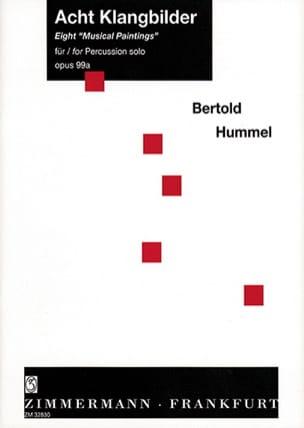Eight Musical Paintings Opus 99a Berthold Hummel laflutedepan