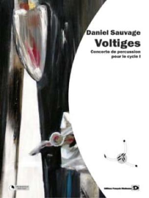 Voltiges - Daniel Sauvage - Partition - laflutedepan.com
