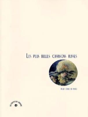 Les Plus Belles Chansons Russes - Partition - laflutedepan.com