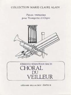 Choral du Veilleur BACH Partition Trompette - laflutedepan
