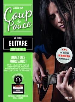 Méthode Guitare Débutant Volume 2 COUP DE POUCE Partition laflutedepan