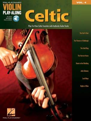 Violin Play-Along Volume 4 - Celtic Partition Violon - laflutedepan