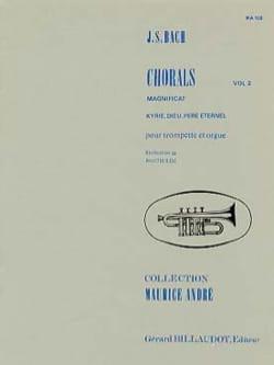 Chorals Volume 2 BACH Partition Trompette - laflutedepan
