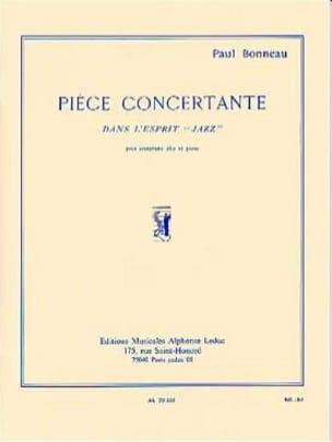 Pièce Concertante Paul Bonneau Partition Saxophone - laflutedepan