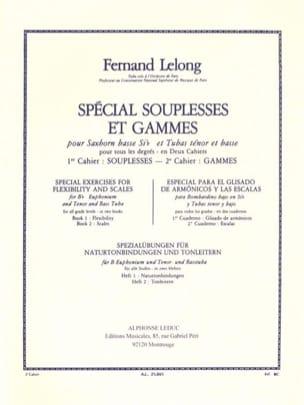 Spécial Souplesses Et Gammes Volume 2 - Gammes Lelong laflutedepan