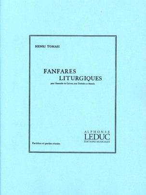 Fanfares Liturgiques TOMASI Partition laflutedepan