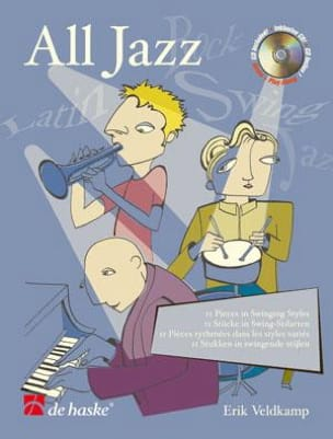 All Jazz Erik Veldkamp Partition Trombone - laflutedepan